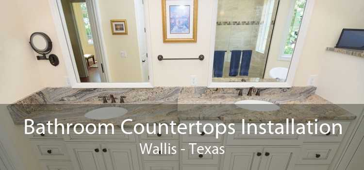 Bathroom Countertops Installation Wallis - Texas
