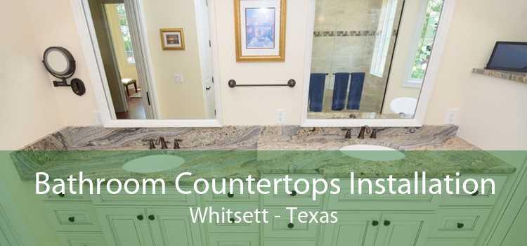 Bathroom Countertops Installation Whitsett - Texas