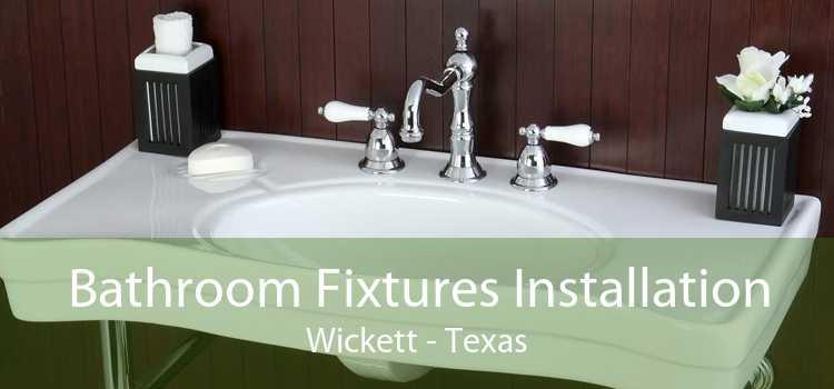 Bathroom Fixtures Installation Wickett - Texas