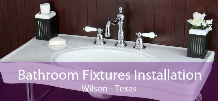 Bathroom Fixtures Installation Wilson - Texas