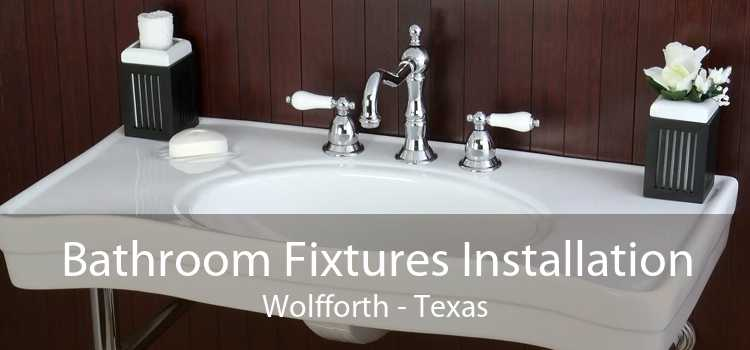 Bathroom Fixtures Installation Wolfforth - Texas