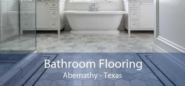 Bathroom Flooring Abernathy - Texas