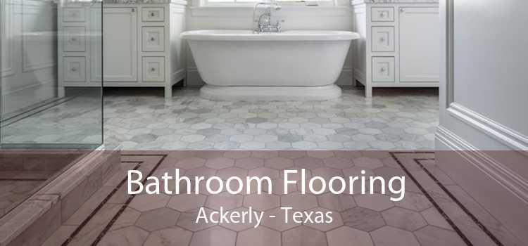 Bathroom Flooring Ackerly - Texas