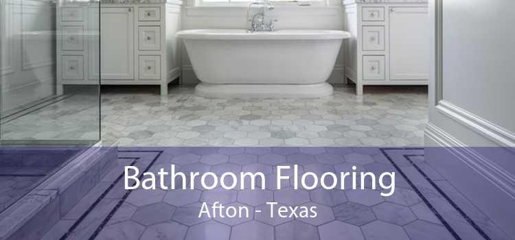 Bathroom Flooring Afton - Texas