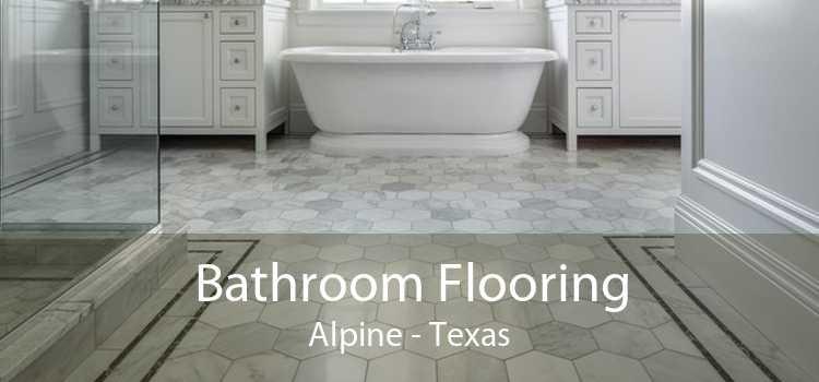 Bathroom Flooring Alpine - Texas