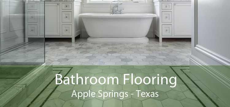 Bathroom Flooring Apple Springs - Texas