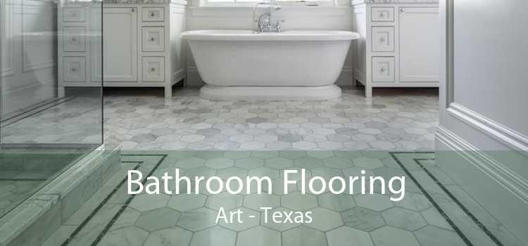Bathroom Flooring Art - Texas