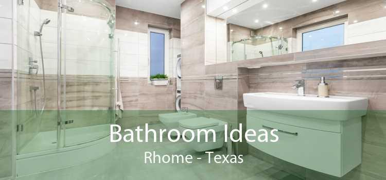 Bathroom Ideas Rhome - Texas