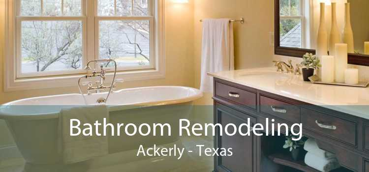 Bathroom Remodeling Ackerly - Texas