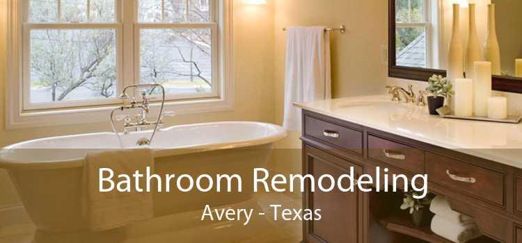 Bathroom Remodeling Avery - Texas