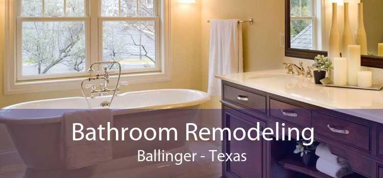 Bathroom Remodeling Ballinger - Texas