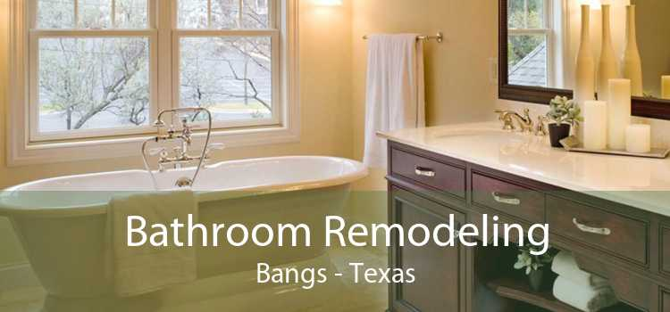 Bathroom Remodeling Bangs - Texas