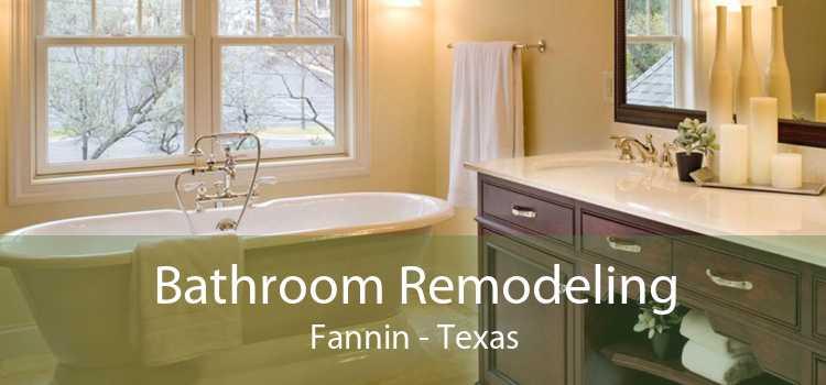 Bathroom Remodeling Fannin - Texas