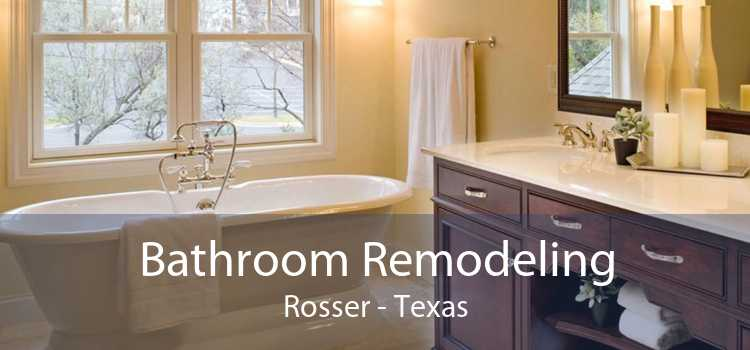 Bathroom Remodeling Rosser - Texas