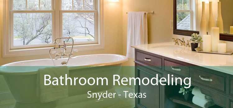 Bathroom Remodeling Snyder - Texas
