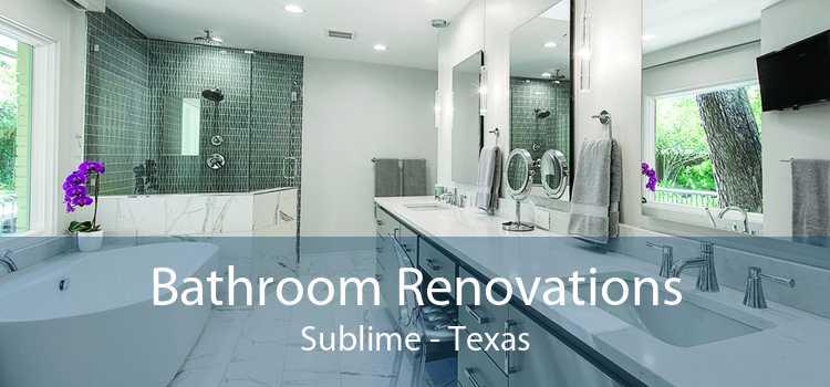 Bathroom Renovations Sublime - Texas