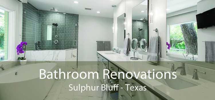 Bathroom Renovations Sulphur Bluff - Texas
