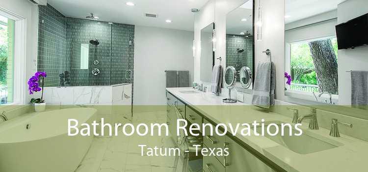 Bathroom Renovations Tatum - Texas