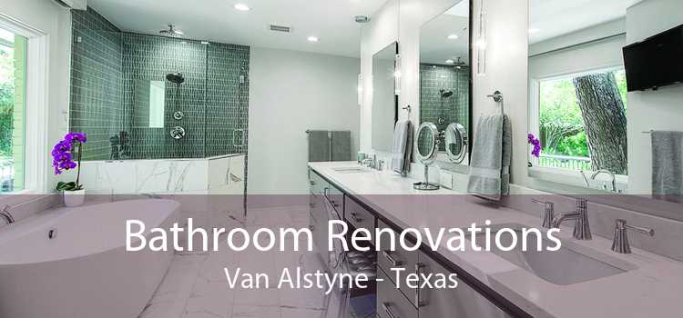 Bathroom Renovations Van Alstyne - Texas