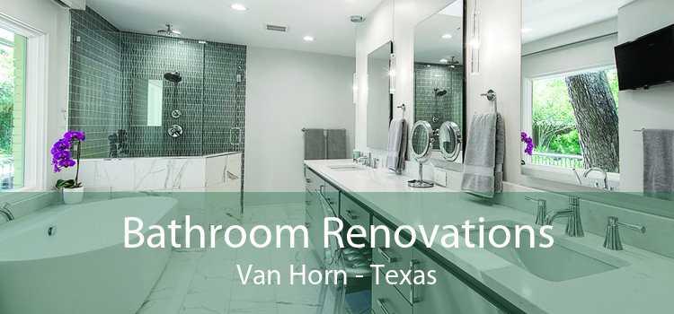 Bathroom Renovations Van Horn - Texas
