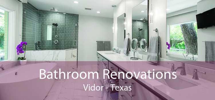 Bathroom Renovations Vidor - Texas