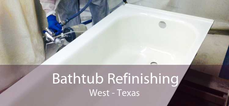 Bathtub Refinishing West - Texas