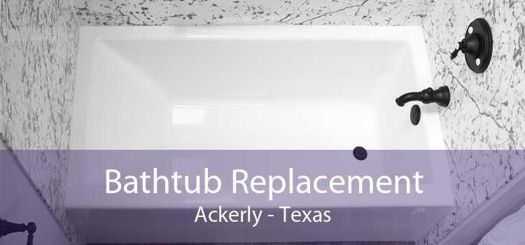 Bathtub Replacement Ackerly - Texas
