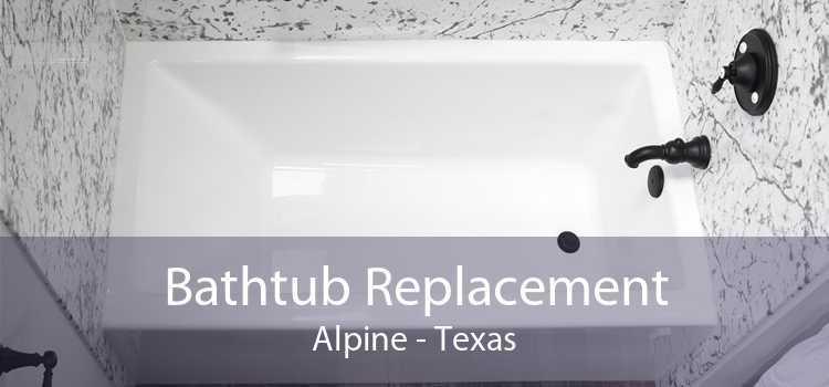 Bathtub Replacement Alpine - Texas