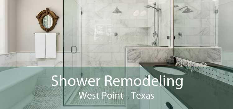Shower Remodeling West Point - Texas